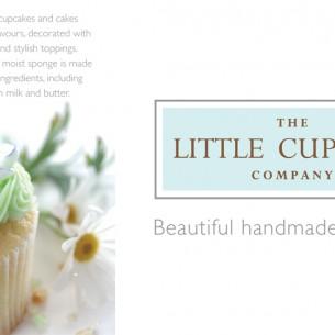 The Little Cupcake Company. Cambridge design agency, Cambridge photography, illustration, typography, Cambridge print, design, packaging, photography, advertising, printed materials, website design, 3D animation.