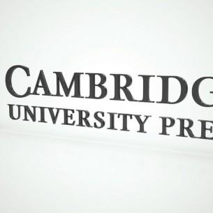 Cambridge University press. Cambridge design agency, Cambridge photography, illustration, typography, Cambridge print, design, packaging, photography, advertising, printed materials, website design, 3D animation.