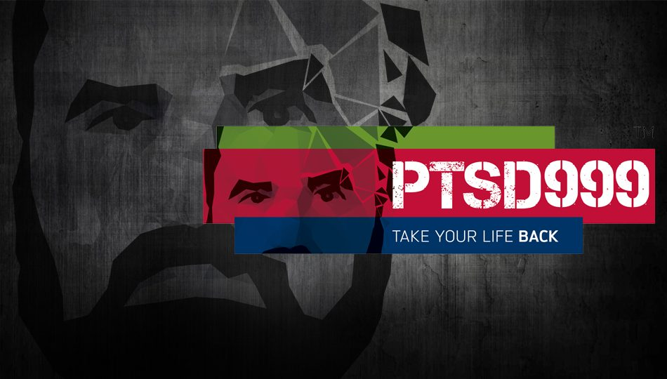 Branding, photography and promotional design for PTSD999 Charity